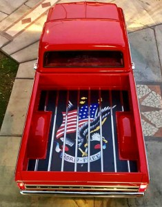 Smokey Road Rod Shop's American Eagle Truck Bed