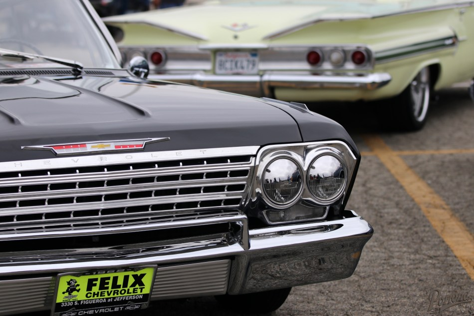 1962 and 1960 Impalas