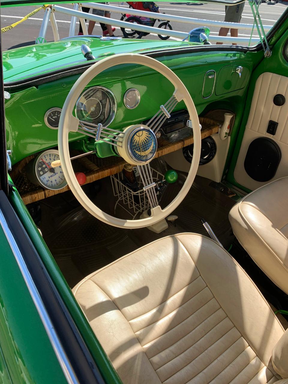 1956 VW Beetle Interior