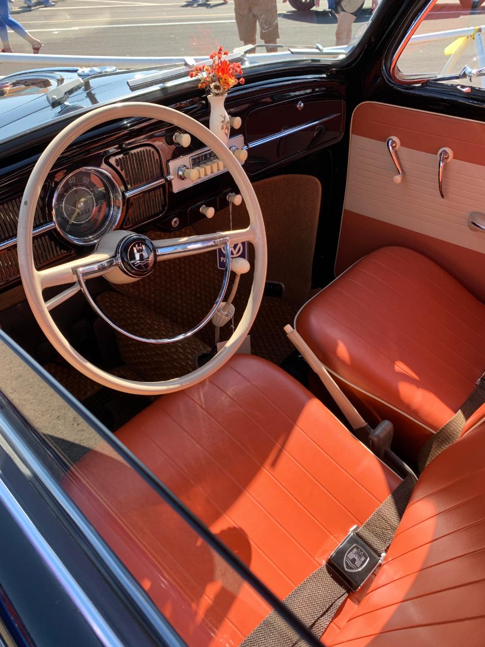 1960 VW Bug Interior