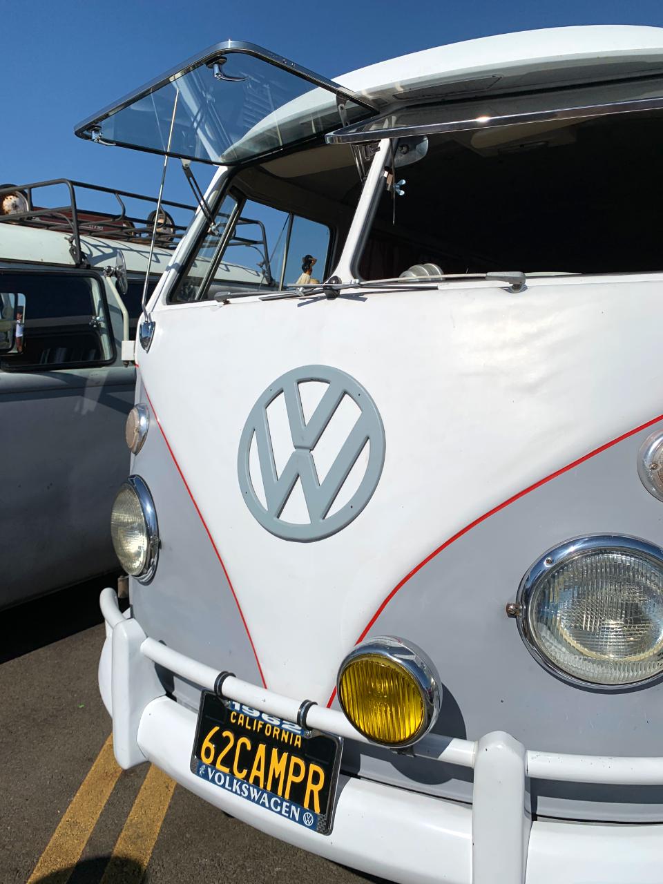 1962 VW Bus Safari Windows