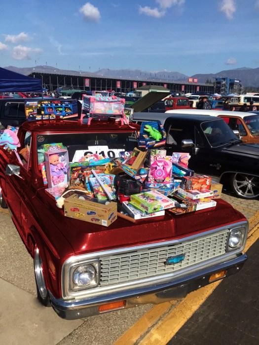 Chevy C10 Club Toy Drive
