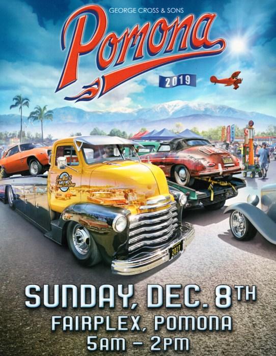 Flyer for Dec 8, 2019 Pomona Swap Meet