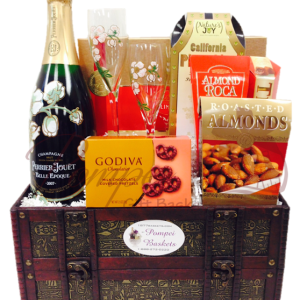 Beautiful Era Champagne Gift Basket