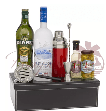 Father's Day Liquor Gift Basket