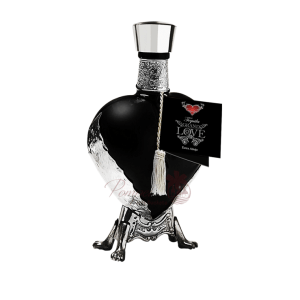 Grand Love Black Extra Anejo Tequila, Grand Love Tequila, Heart Shape Tequila, Heart Shaped Bottle, Heart Tequila, Black Heart Tequila, Black Bottle Tequila