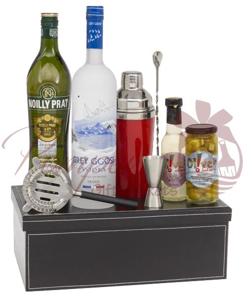 Custom Liquor Gift Baskets CA