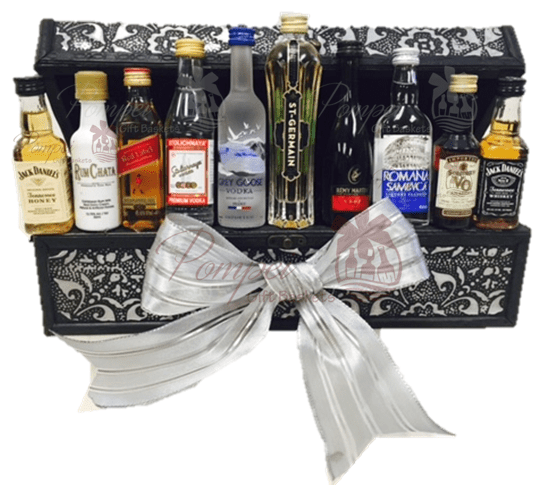 Mini Bar Gift Basket