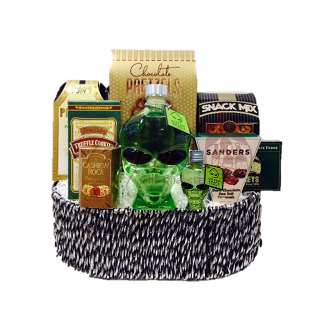Outer space vodka gifts outer space vodka gift basket for Outer space gifts