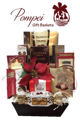 chocolate heavens gourmet gift basket chocolate baskets nj chocolate gifts nj chocolate gift - Christmas Gift Baskets Free Shipping