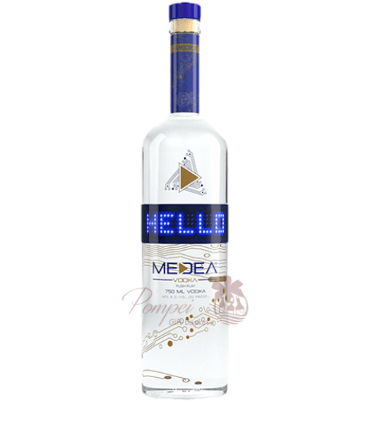 Programmed Vodka Bottle