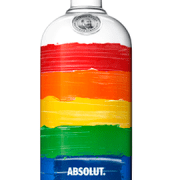 Absolut Colors, Absolut LGBT, LGBT Vodka, LGBT Liquor, Rainbow Absolut, Rainbow Flag Liquor, Gay Pride Absolut, LGBT Supporting Companies, Pride Vodka