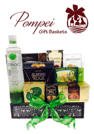 Ciroc Gift Baskets TX, Gift Baskets Texas, Ciroc Gifts TX, Engraved Ciroc TX, Liquor Gift Baskets Texas, Vodka Gift Baskets TX