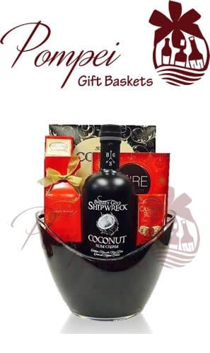 Liquor Gift Baskets Raleigh NC from Pompei Baskets