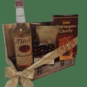 The Perfect Tito's Vodka Gift Basket