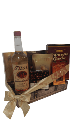 The Perfect Titos Vodka Gift Basket, Titos Gift Basket, Titos Vodka Gift Basket, Vodka Gift Basket, Titos Gift Basket, Gluten Free Vodka Gift Basket