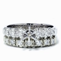 1/2ct Diamond Semi Mount Engagement Wedding Ring Set
