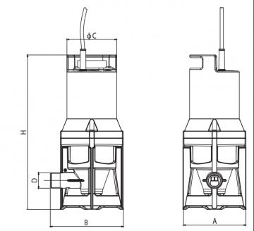 Aérateurs NOVAIR 200/600 pour stations de relevage ou