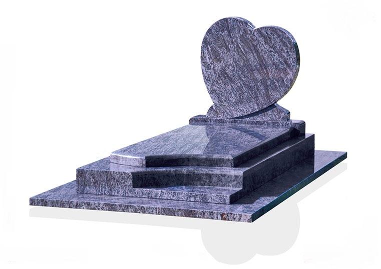 Tombe en granit deuil-enterrement-tombe-pompes-funebres-odet