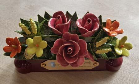 fleurs-céramiques-pompes-funebres-odet