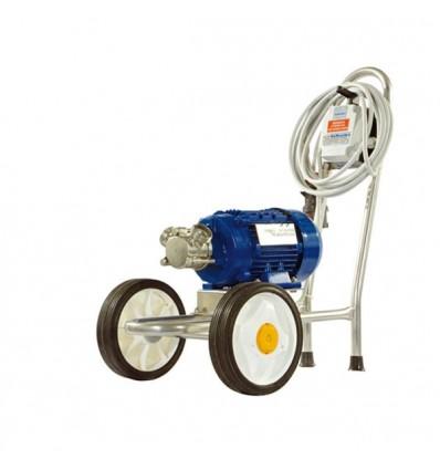 pompe a rotor flexible sur chariot