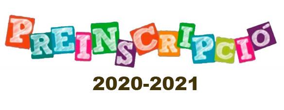 Informació important sobre la preinscripció 2020/2021 ...