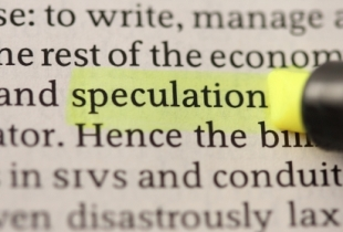 What the hell does a speculator do? Should I complain about it?