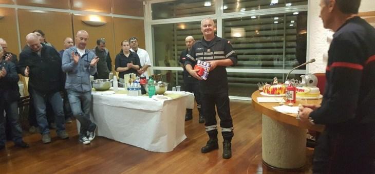 Départ du Sergent Chef Philippe Rop