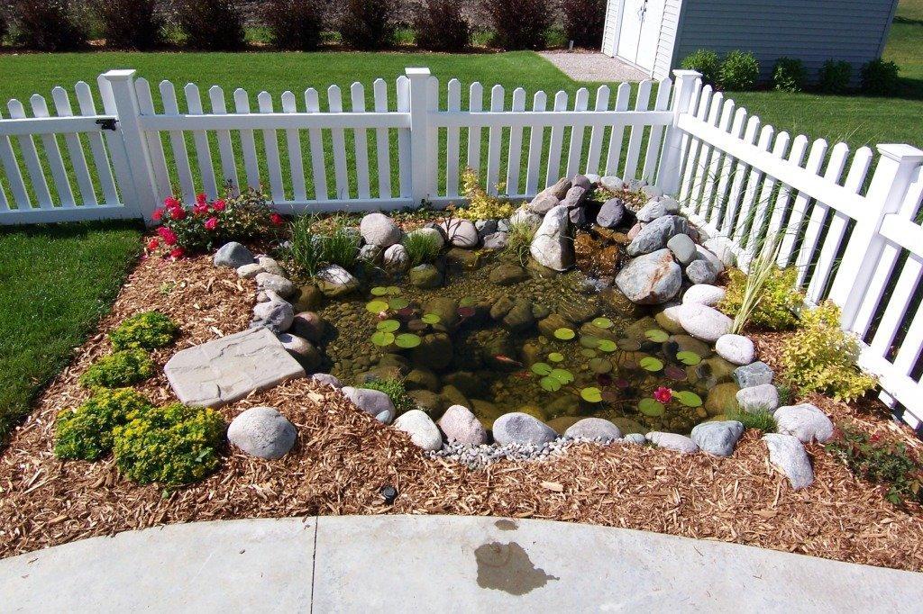 Large Backyard Pond