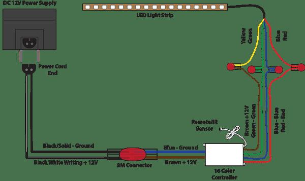 wiring diagram for 12v led lights 12v Led Wiring Diagram led wiring diagram 12v 12v led wiring diagram