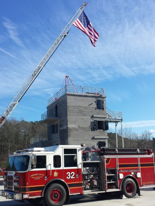 Cherokee County Fire and Emergency Services Opens