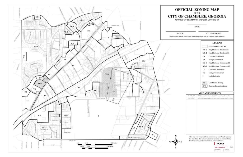 city of chamblee planning  u0026 zoning