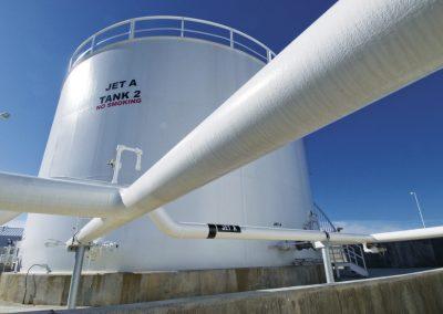 FedEx Fuel Farm & Glycol Dispensing - Piedmont Triad International Airport, Greensboro, NC