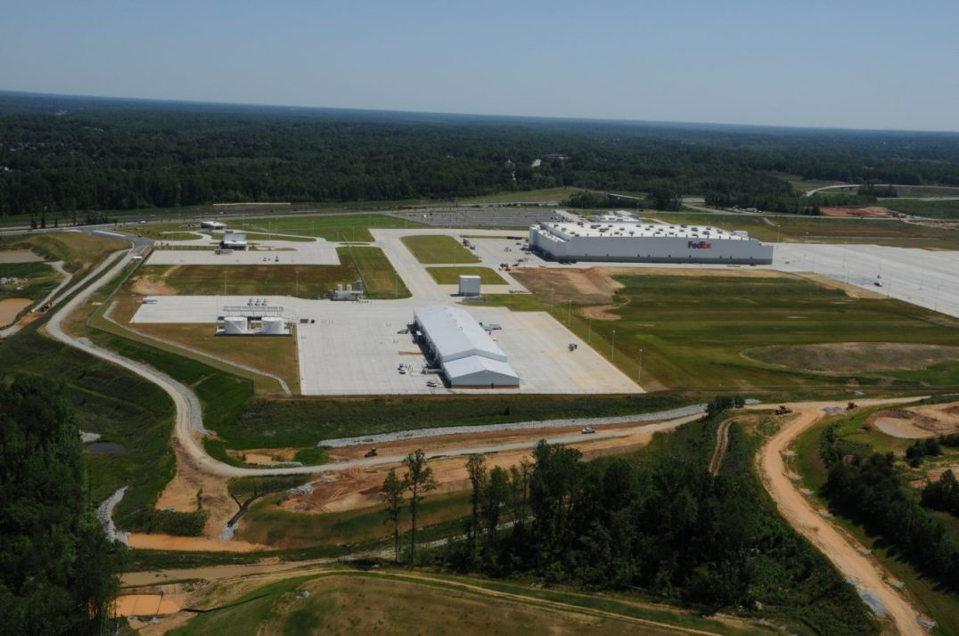 FedEx Fuel Farm & Glycol Dispensing Piedmont Triad International Airport Greensboro North Carolina 5