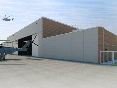 Greenside Type II Maintenance Hangar Marine Corps Base Quantico Virginia 6