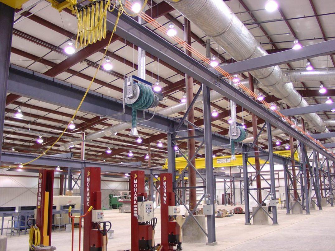 Heavy Vehicle Maintenance Facility Renovation UNICOR Factory Bennettsville 1