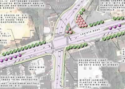 Lavista Road Corridor Intersection Improvements - Dekalb County, GA