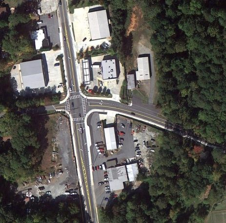 Pedestrian & Safety Improvements Old McEver Road Cobb County Georgia 1