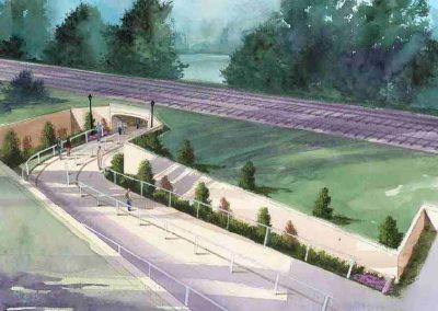 Pedestrian Underpass - Morrow, GA