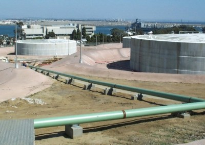 Replace Fuel Piping & Tanks at Jet Fuel & Diesel Tank Farm - Point Loma, San Diego, CA