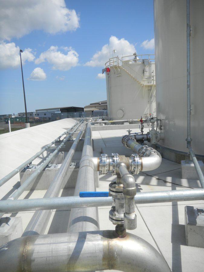 Replace Jet Fuel Storage Complex Pond Amp Company