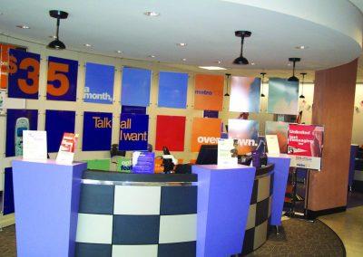 Metro PCS Switch & Office Renovations - Norcross, GA