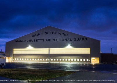 Aircraft Maintenance Hangar - Barnes Air National Guard Base, Westfield, MA