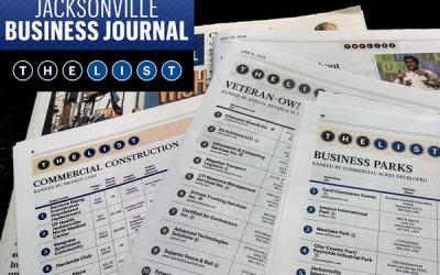 Pond & Company Moves Up the Jacksonville Business Journal's Top of the List: Architectural Firms