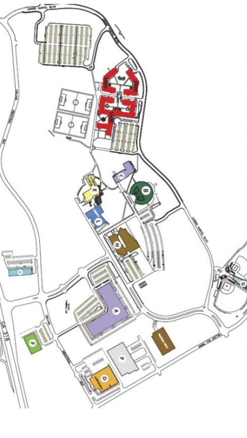 Georgia Gwinnett College Campus Map.Campus Building Facility Assessment Pond Company