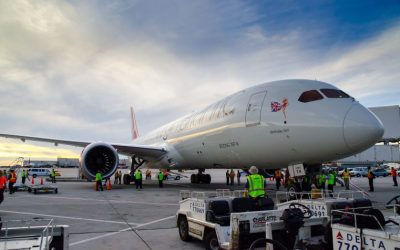 Pond & Company's Expertise Lands Dreamliner at Hartsfield-Jackson International Airport