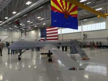 Predator LRE Aircraft Maintenance Hangar Fort Huachuca Arizona 1