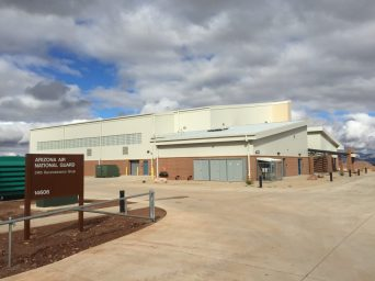 Predator LRE Aircraft Maintenance Hangar Fort Huachuca Arizona 5