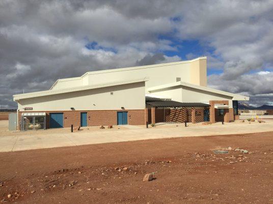 Predator LRE Aircraft Maintenance Hangar Fort Huachuca Arizona 6