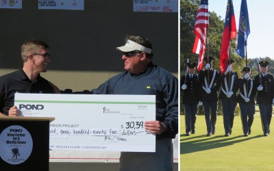 Pond & Company's Golf Tournament Raises over $30k for Wounded Veterans
